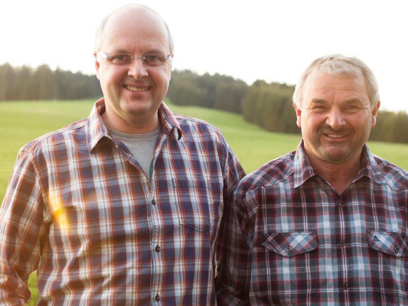 40 Jahre aktiv, 2 Felsen in der Brandung: Edi Spiegelhalter und Franz Beha