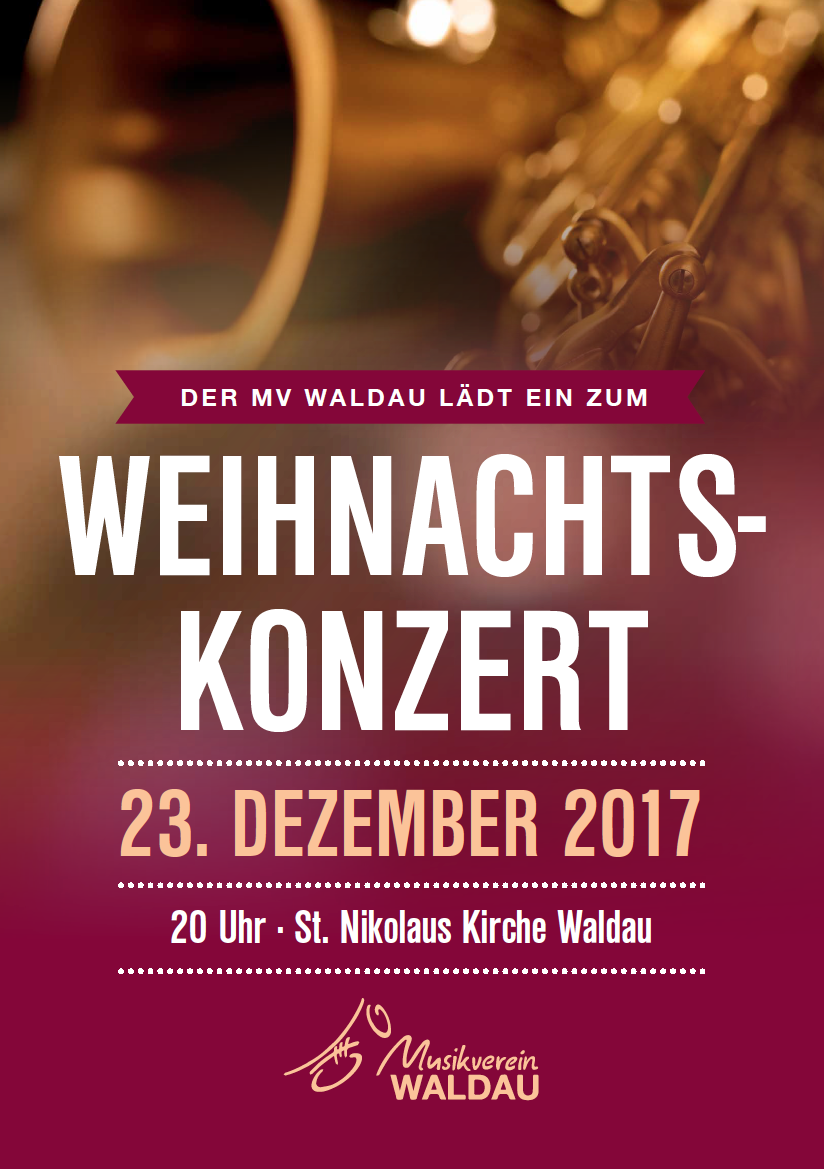 Wir laden ein zum Weihnachtskonzert 2017